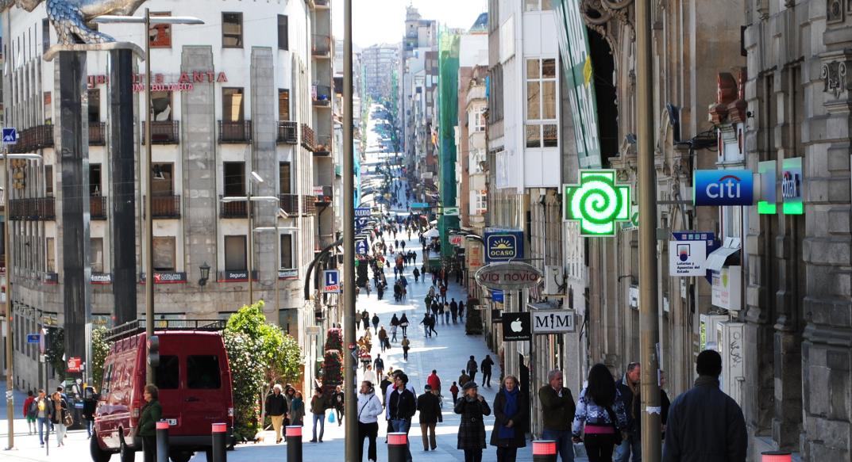 Imagen de Calle Principe desde la puerta del Sol